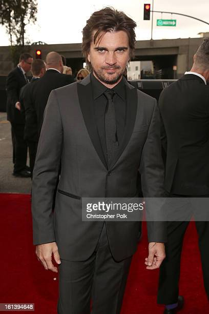 Singer Juanes attends the 55th Annual GRAMMY Awards at STAPLES Center on February 10 2013 in Los Angeles California