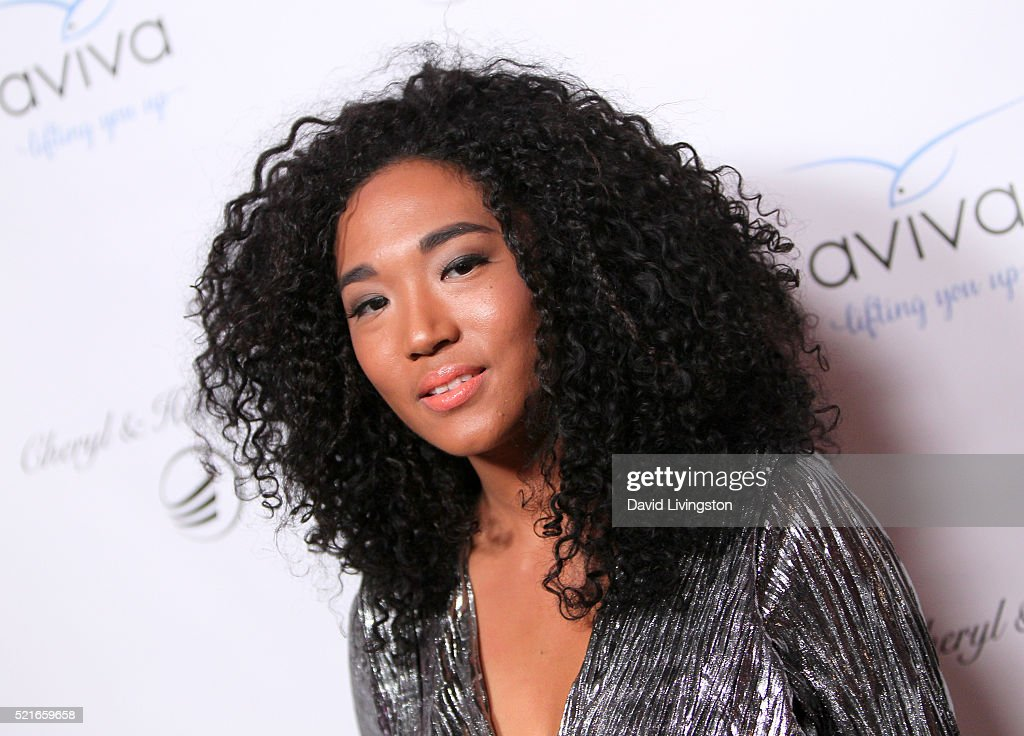 Singer Judith Hill attends A Gala to honor Avi Lerner and Millennium Films at The Beverly Hills Hotel on April 16, 2016 in Beverly Hills, California.