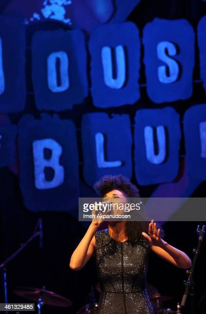Singer Judith Hill attends the celebration of black cinema hosted by Broadcast Film Critics Association at House of Blues Sunset Strip on January 7...