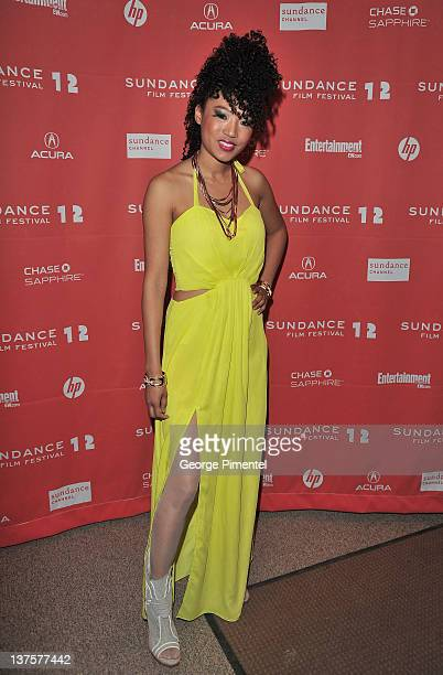 Singer Judith Hill attends the 'Red Hook Summer' premiere during the 2012 Sundance Film Festival held at Eccles Center Theatre on January 22 2012 in...