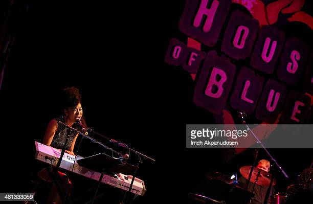 Singer Judith Hill performs onstage at the celebration of black cinema hosted by Broadcast Film Critics Association at House of Blues Sunset Strip on...