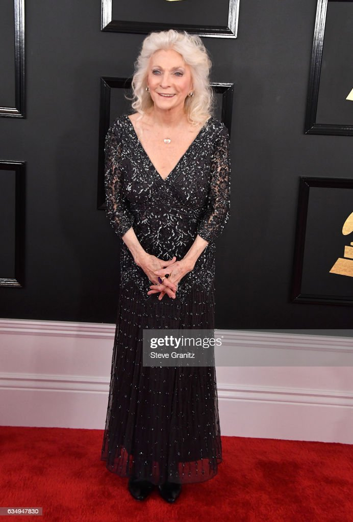 Singer Judy Collins attends The 59th GRAMMY Awards at STAPLES Center on February 12, 2017 in Los Angeles, California.