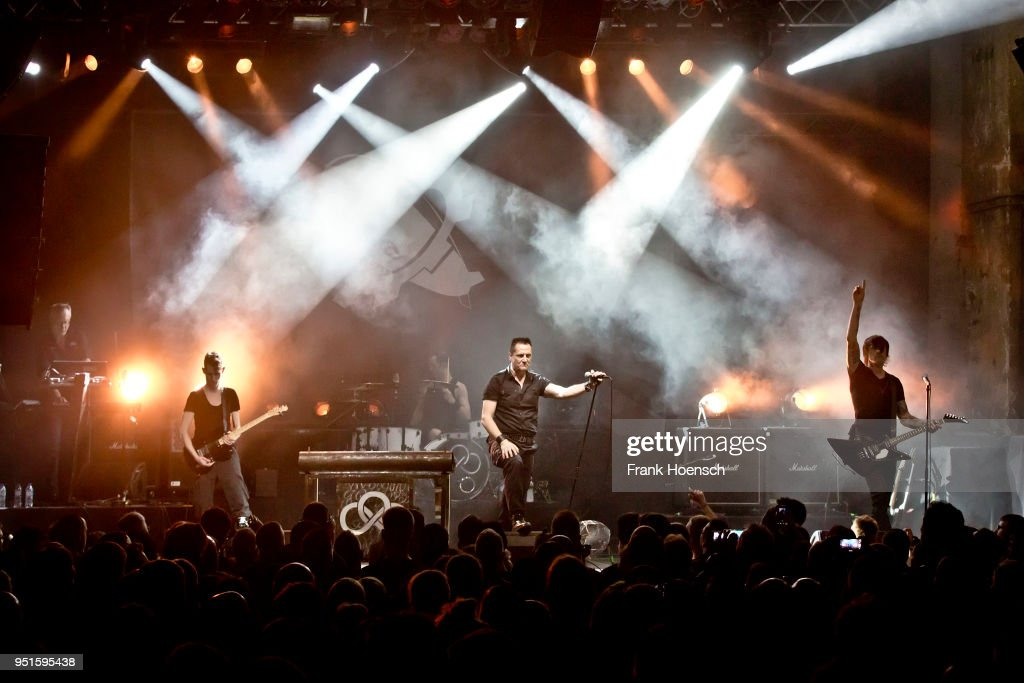 Die Krupps Perform in Berlin