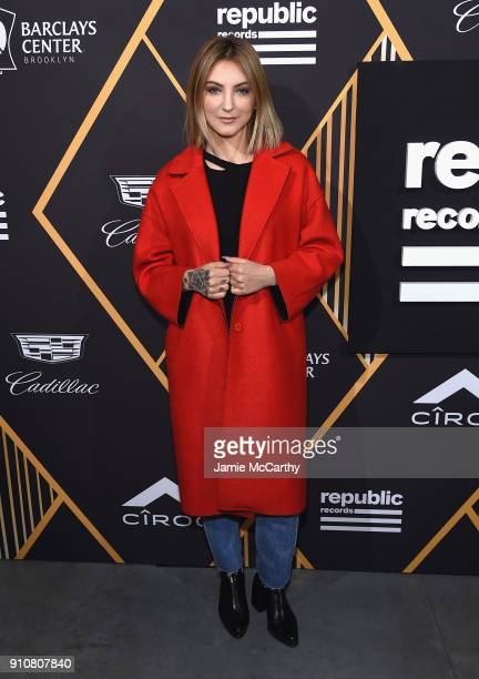 Singer Julia Michaels attends Republic Records Celebrates the GRAMMY Awards in Partnership with Cadillac Ciroc and Barclays Center at Cadillac House...