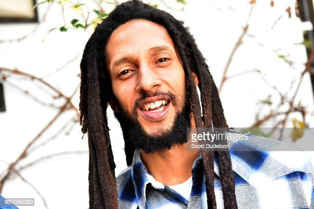 Singer Julian Marley attends the press conference for the upcoming KAYA FEST at Sunset Marquis Hotel & Villas on March 12, 2018 in West Hollywood,...