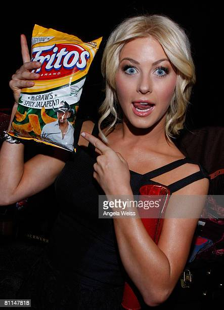 Singer Julianne Hough attends the Backstage Creations celebrity retreat held during the 43rd Academy of Country Music Awards at the MGM Grand Garden...