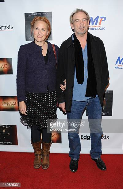 """Singer Julie Christensen and actor John Diehl arrive at G Tom Mac's CD release party for """"Untame The Songs"""" at Rolling Stone Restaurant & Lounge on..."""