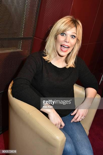 Singer Julie Compagnon attends 'Hopes' Belgium Rock Opera Premiere Centre de Wallonie Bruxelles of Paris on December 8 2015 in Paris France