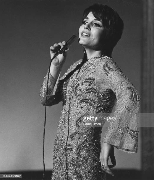 Singer Julie Rogers performing December 9th 1969
