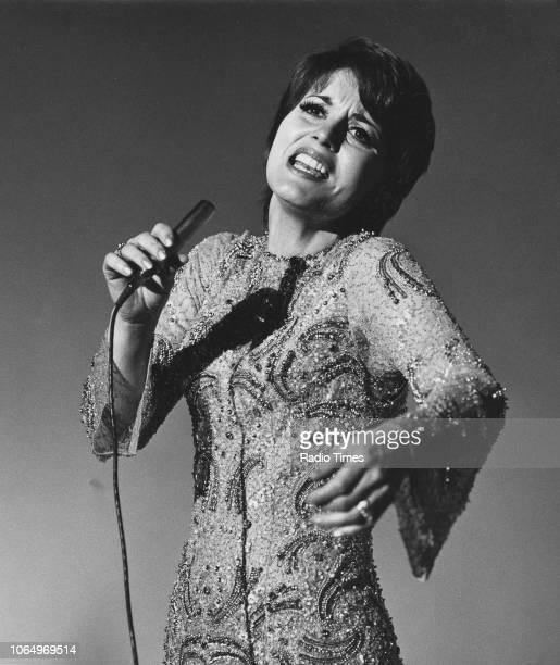 Singer Julie Rogers performing December 9th 1969
