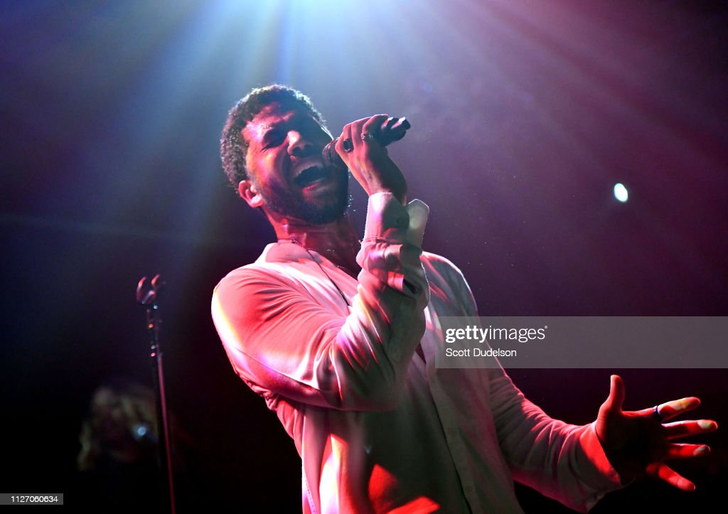 Jussie Smollett Performs At The Troubadour - West Hollywood, CA : News Photo