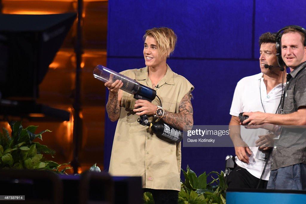 Singer Justin Bieber appears at 'The Ellen Degeneres Show