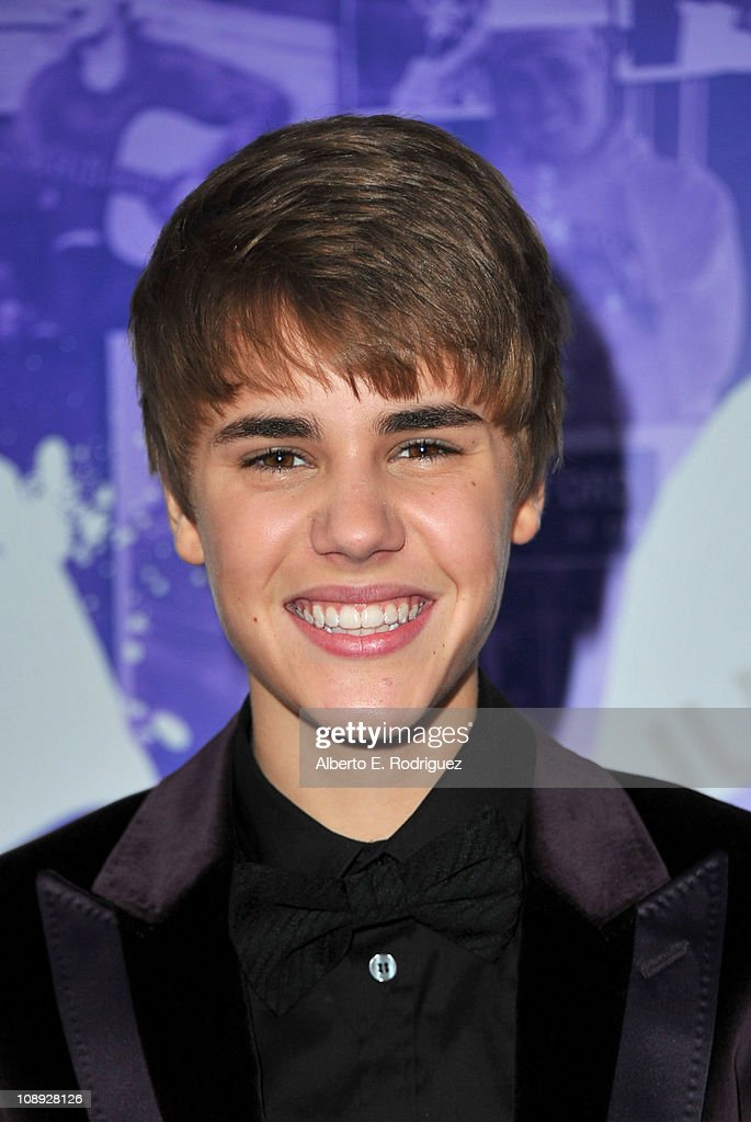 Singer Justin Bieber arrives at the premiere of Paramount Pictures' 'Justin Bieber: Never Say Never' held at Nokia Theater L.A. Live on February 8, 2011 in Los Angeles, California.