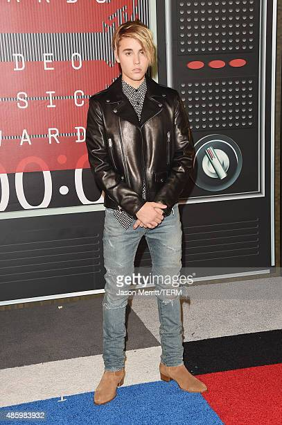 Singer Justin Bieber attends the 2015 MTV Video Music Awards at Microsoft Theater on August 30 2015 in Los Angeles California