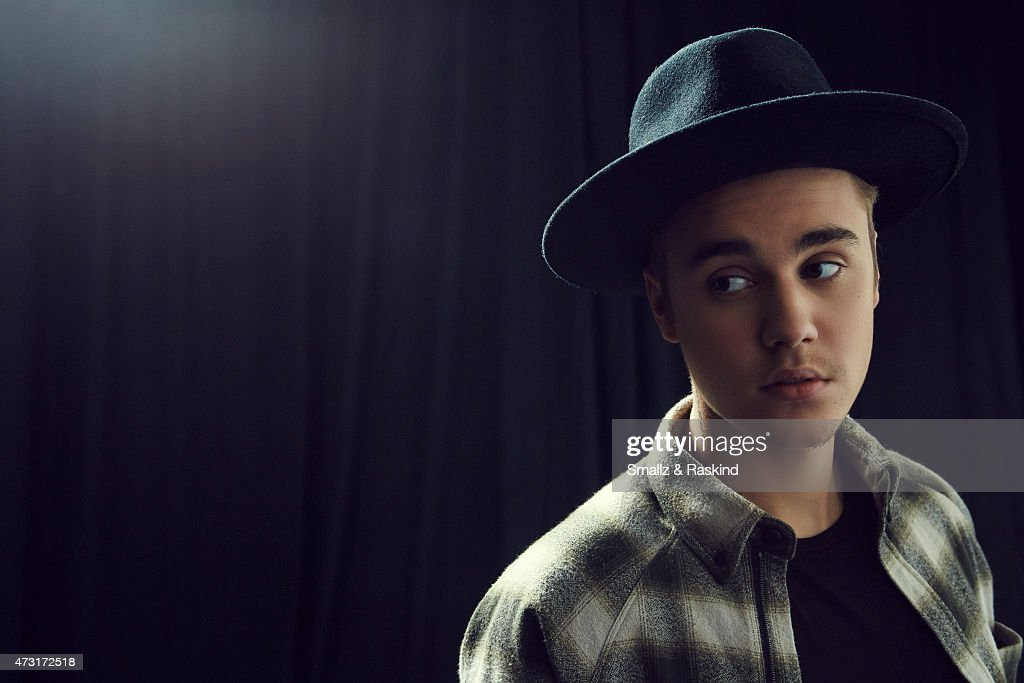 Singer Justin Bieber poses for a portrait at the 102.7 KIIS FM's Wango Tango portrait studio for People Magazine on May 9, 2015 in Carson, California.