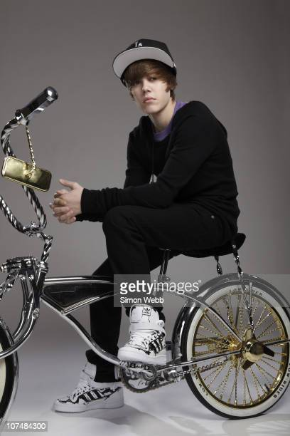 Singer Justin Bieber poses for a portrait shoot in London on November 23 2009