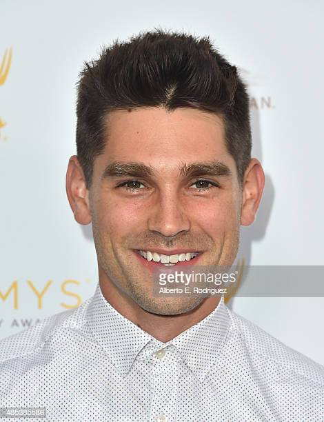 Singer Justin Gaston attends a cocktail reception hosted by the Academy of Television Arts Sciences celebrating the Daytime Peer Group at Montage...