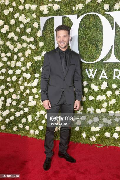 Singer Justin Guarini attends the 2017 Tony Awards at Radio City Music Hall on June 11, 2017 in New York City.