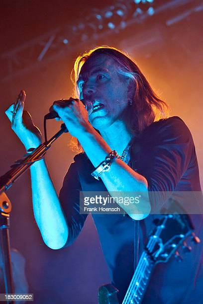 Singer Justin Sullivan of New Model Army performs live during a concert at the C-Club on October 3, 2013 in Berlin, Germany.