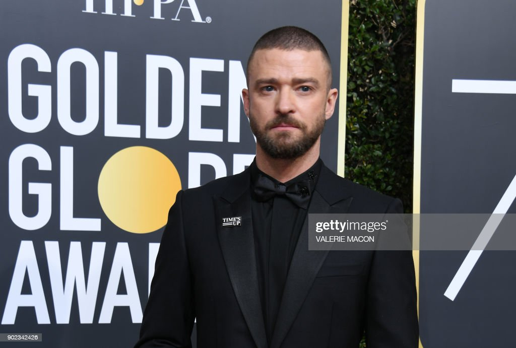 US-ENTERTAINMENT-GOLDEN-GLOBES-ARRIVALS : News Photo