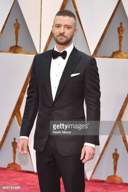 Singer Justin Timberlake attends the 89th Annual Academy Awards at Hollywood Highland Center on February 26 2017 in Hollywood California