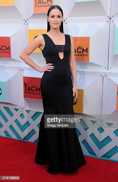 Singer Kacey Musgraves arrives at the 51st Academy Of Country Music Awards at MGM Grand Garden Arena on April 3 2016 in Las Vegas Nevada