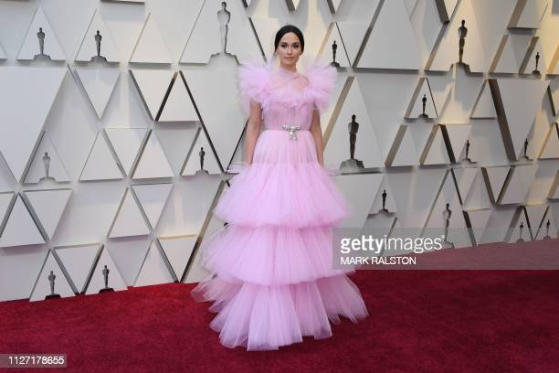 US singer Kacey Musgraves arrives for the 91st Annual Academy Awards at the Dolby Theatre in Hollywood California on February 24 2019