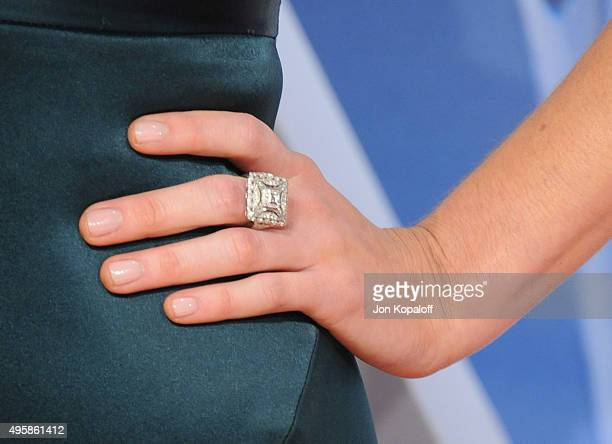 Singer Kacey Musgraves attends the 49th annual CMA Awards at the Bridgestone Arena on November 4 2015 in Nashville Tennessee