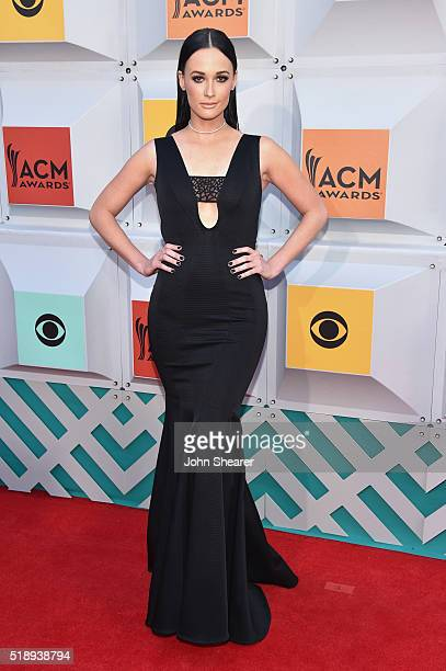 Singer Kacey Musgraves attends the 51st Academy of Country Music Awards at MGM Grand Garden Arena on April 3 2016 in Las Vegas Nevada