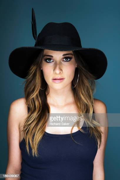 Singer Kacey Musgraves is photographed for the Observer on August 12 2013 in London England