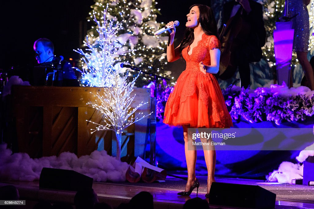 singer kacey musgraves performs live on stage for the a very kacey christmas tour