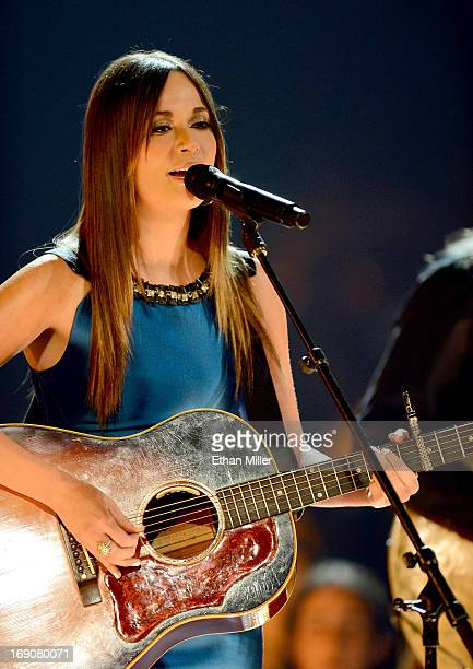 Singer Kacey Musgraves performs onstage during the 2013 Billboard Music Awards at the MGM Grand Garden Arena on May 19 2013 in Las Vegas Nevada