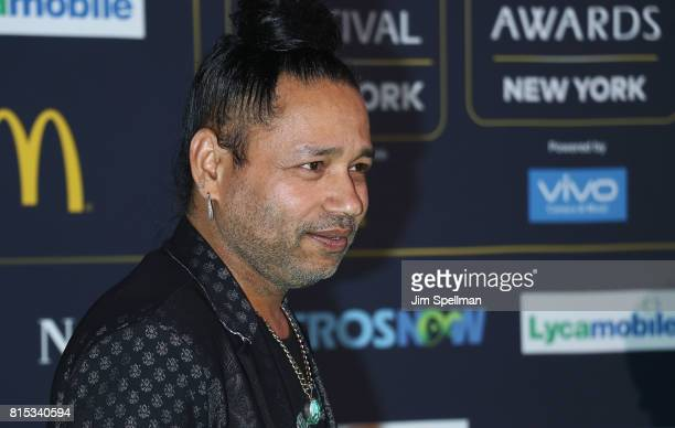 Singer Kailash Kher attends the 2017 International Indian Film Academy Festival at MetLife Stadium on July 14 2017 in East Rutherford New Jersey