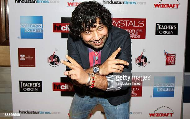 Singer Kailash Kher HT City Crystal Awards being held at Maurya Sheraton Hotel on October 29 2010 in New Delhi India