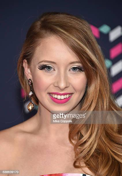 Singer Kalie Shorr attends the 2016 CMT Music awards at the Bridgestone Arena on June 8 2016 in Nashville Tennessee