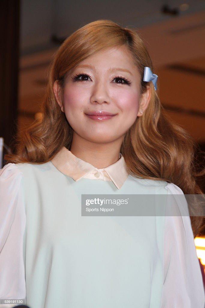 Kana Nishino Attends PR Event In Tokyo : News Photo