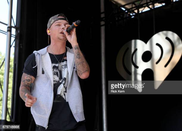 Singer Kane Brown performs live during the 2017 Daytime Village at the iHeartCountry Festival A Music Experience by ATT at The Frank Erwin Center on...