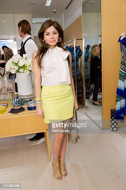Singer Kanika Kapoor attends lunch hosted by Angela Missoni and Kim Hersov at Missoni on March 15 2012 in London England