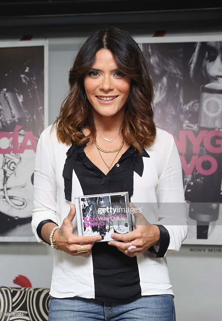 Kany Garcia Launches Her New Album En Vivo : News Photo