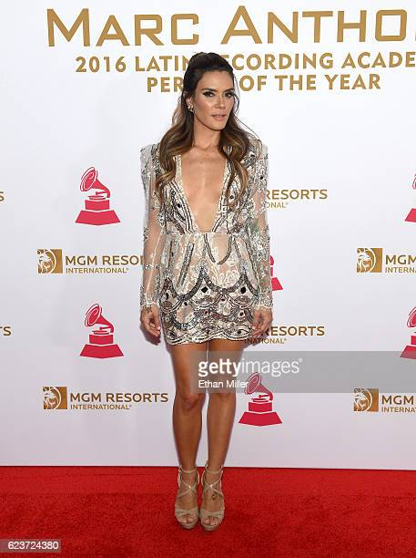 Singer Kany Garcia attends the 2016 Person of the Year honoring Marc Anthony at MGM Grand Garden Arena on November 16 2016 in Las Vegas Nevada
