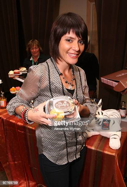 Singer Kany Garcia attends the the 10th Annual Latin GRAMMY Awards Gift Lounge held at the Mandalay Bay Events Center on November 4 2009 in Las Vegas...