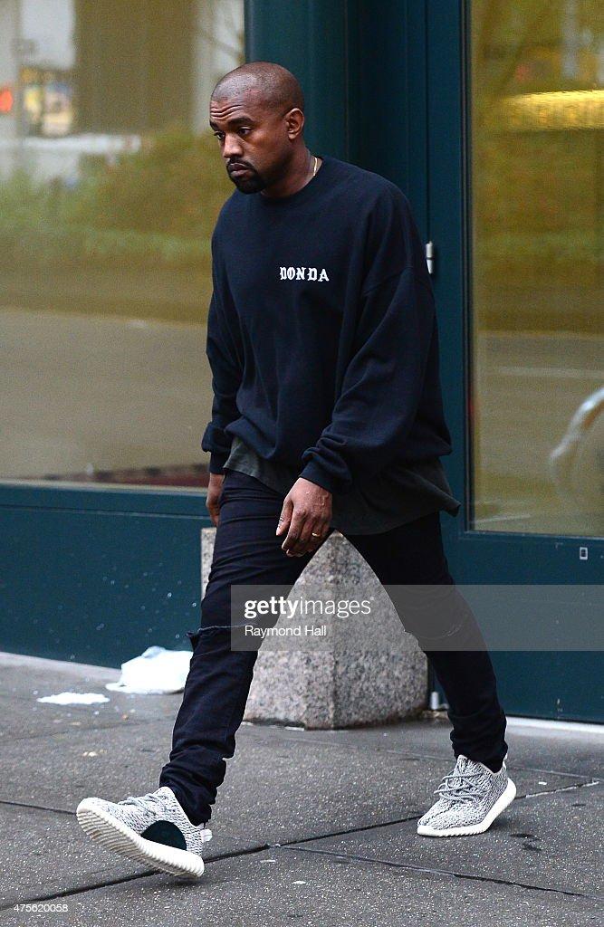 Celebrity Sightings In New York City - June 02, 2015 : News Photo