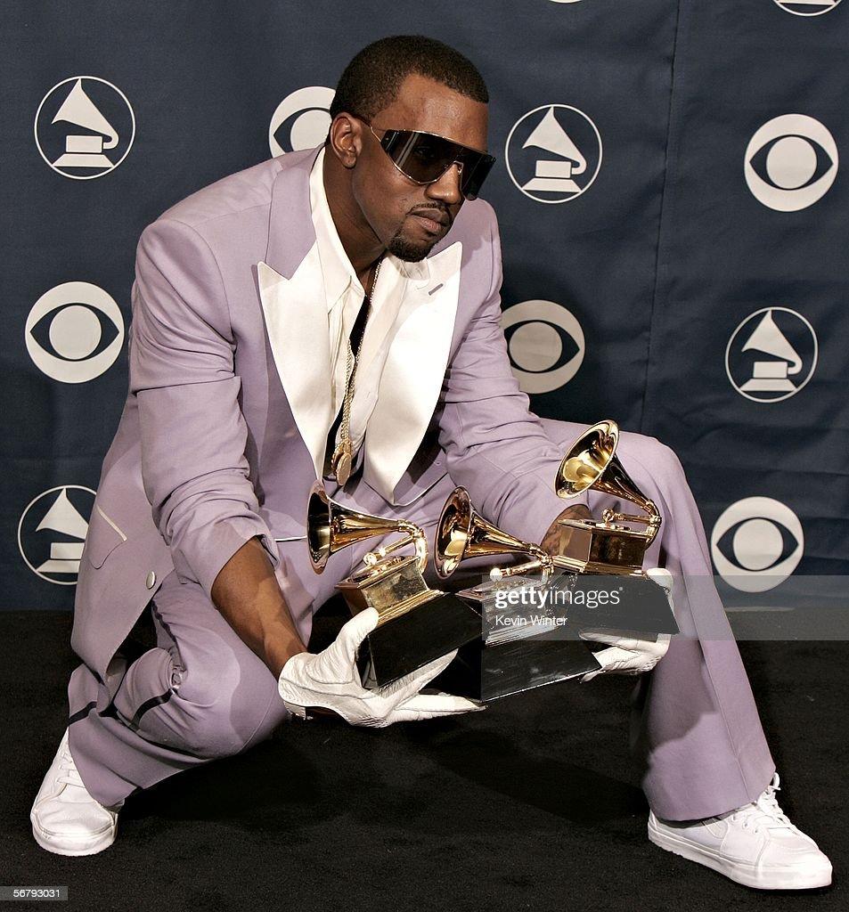 48th Annual Grammy Awards - Press Room : News Photo