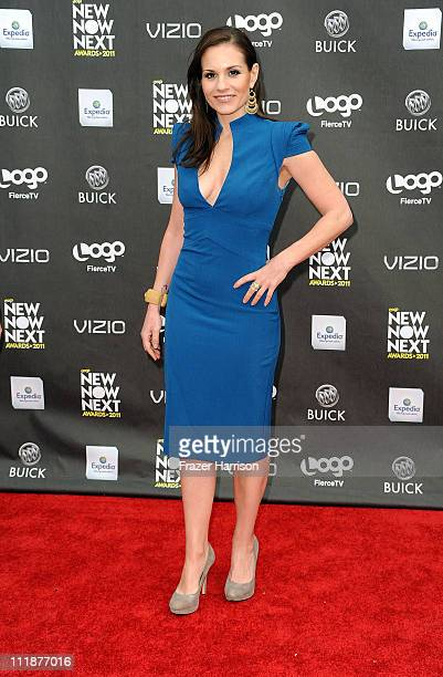 Singer Kara DioGuardi arrives at the 4th Annual Logo's 'NewNowNext Awards' 2011 at Avalon on April 7 2011 in Hollywood California