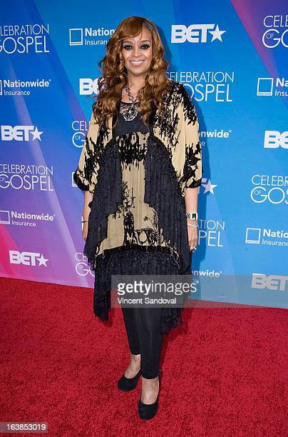Singer Karen Clark Sheard attends the BET 13th annual Celebration Of Gospel at Orpheum Theatre on March 16 2013 in Los Angeles California