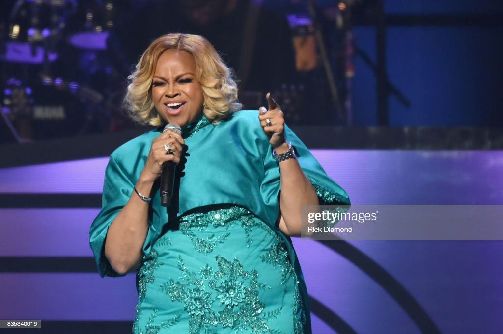 Singer Karen Clark-Sheard performs onstage at the 2017 Black Music Honors at Tennessee Performing Arts Center on August 18, 2017 in Nashville, Tennessee.