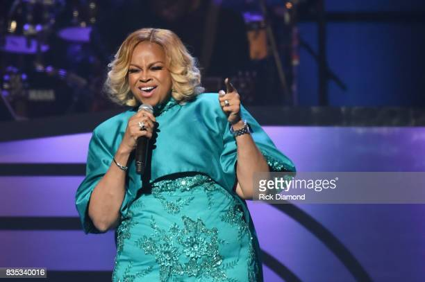 Singer Karen ClarkSheard performs onstage at the 2017 Black Music Honors at Tennessee Performing Arts Center on August 18 2017 in Nashville Tennessee