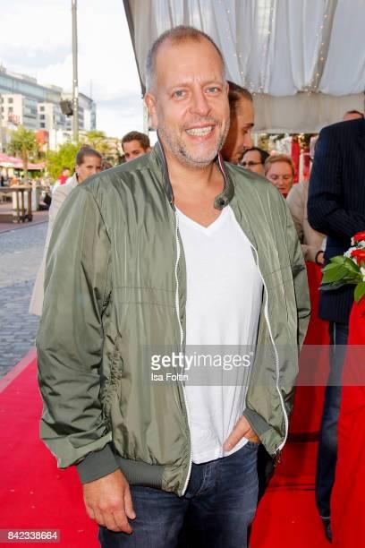 Singer Karl Koenig aka Lotto King Karl attends the 'Nacht der Legenden' at Schmidts Tivoli on September 3 2017 in Hamburg Germany