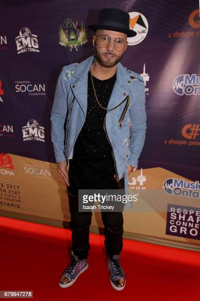 Singer Karl Wolf attends the 2017 Cut Hip Hop Awards at Queen Elizabeth Theatre on May 6 2017 in Toronto Canada