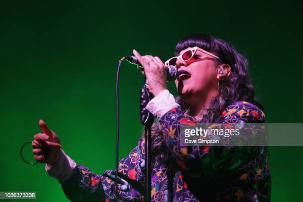Singer Karoline Tamati aka Ladi6 performs live in support of Jhene Aiko as part of her TRIP tour at Logan Campbell Centre on September 20 2018 in...